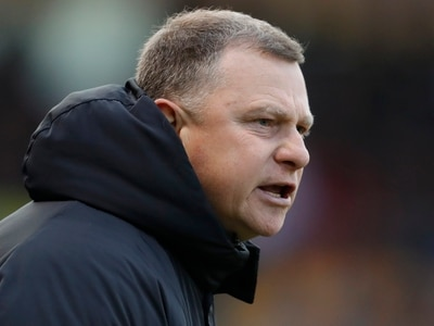 Coventry boss Mark Robins: Shrewsbury kicked us off the pitch
