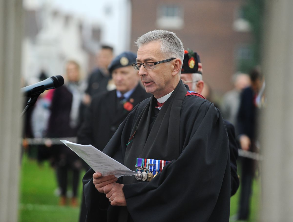 Reverend Padre Wing Commander Alastair Bissell