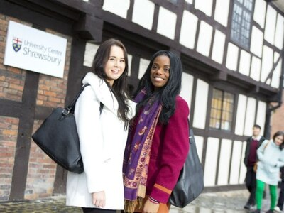 Students prepare for first graduation at Shrewsbury's University Centre