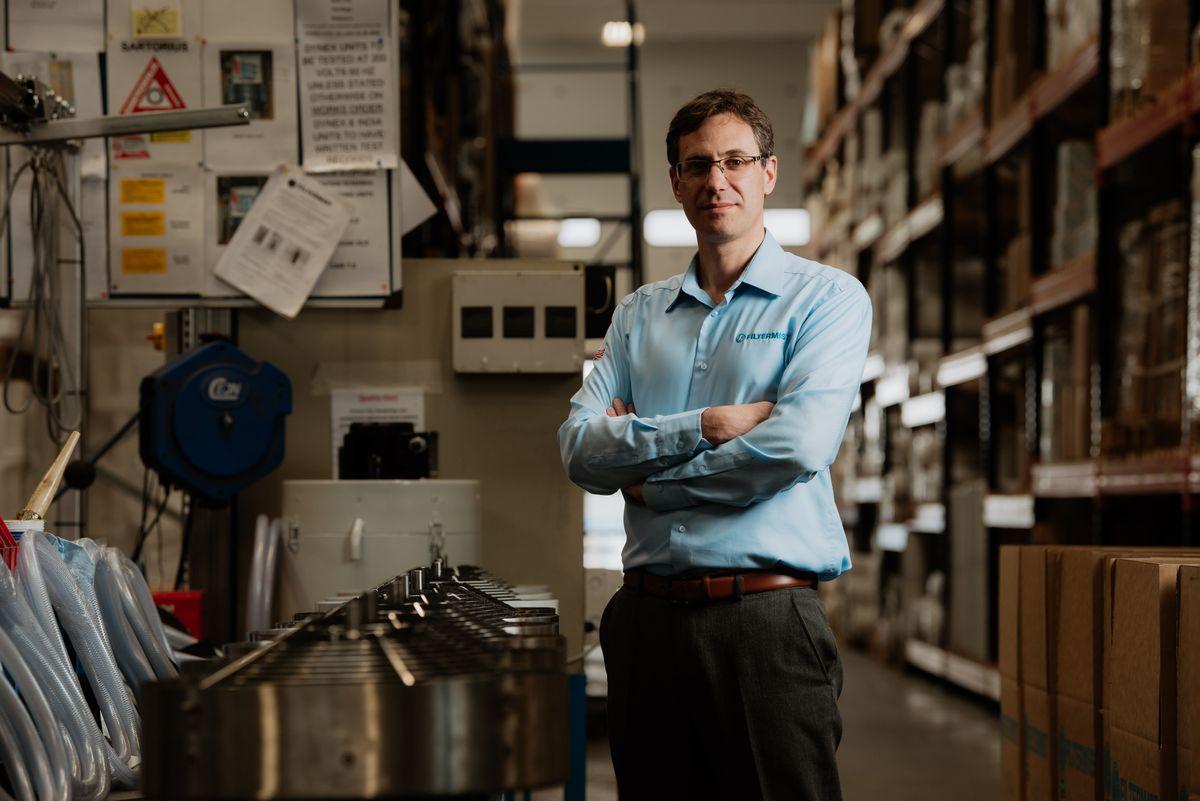 James Stansfield, CEO of Filtermist International
