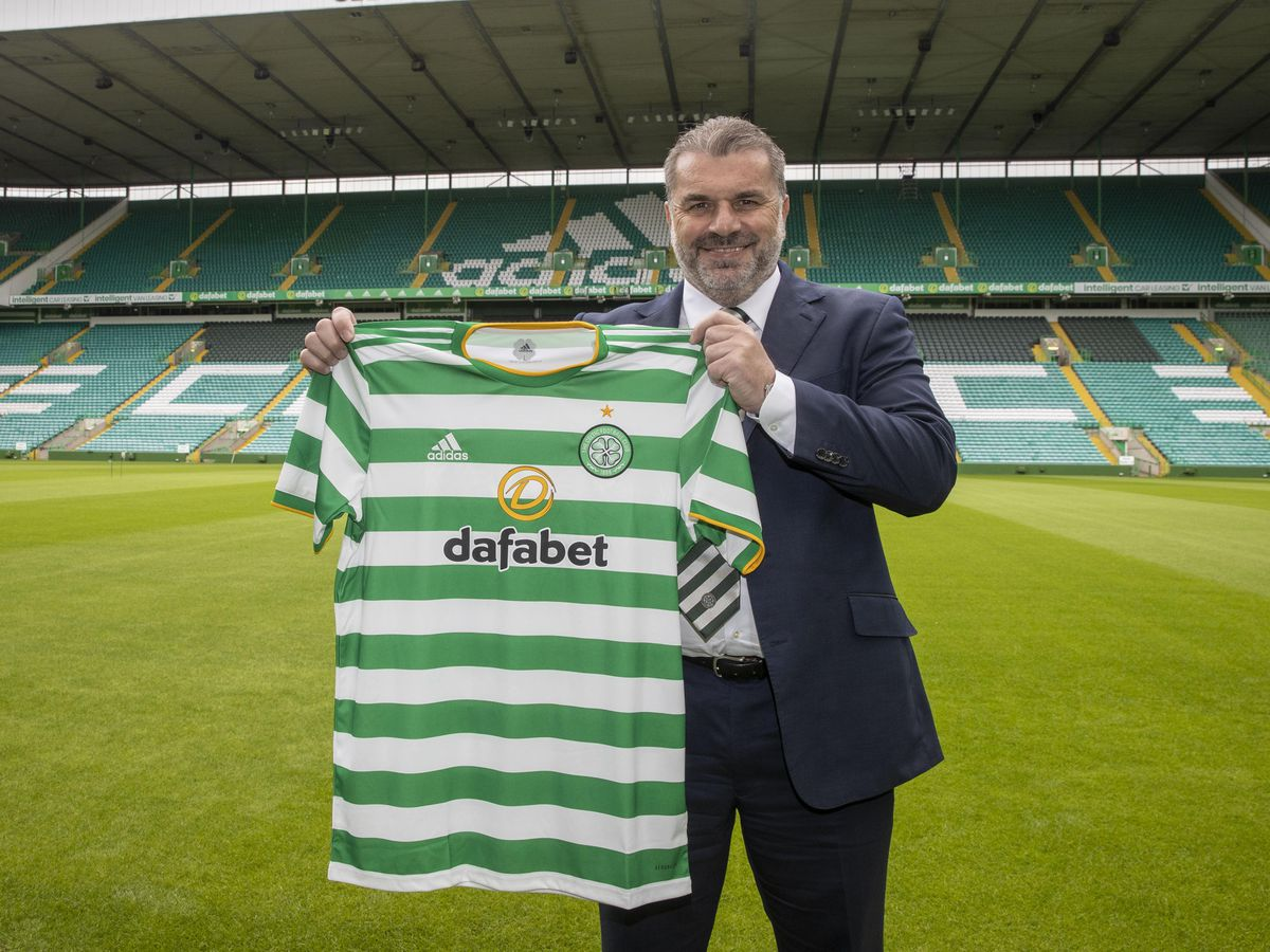 Ange Postecoglou Is unveiled at Celtic Park