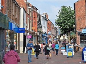 Oswestry town centre