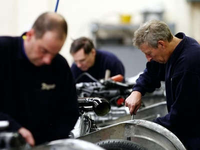 UK industry suffers setback in September as recovery slows