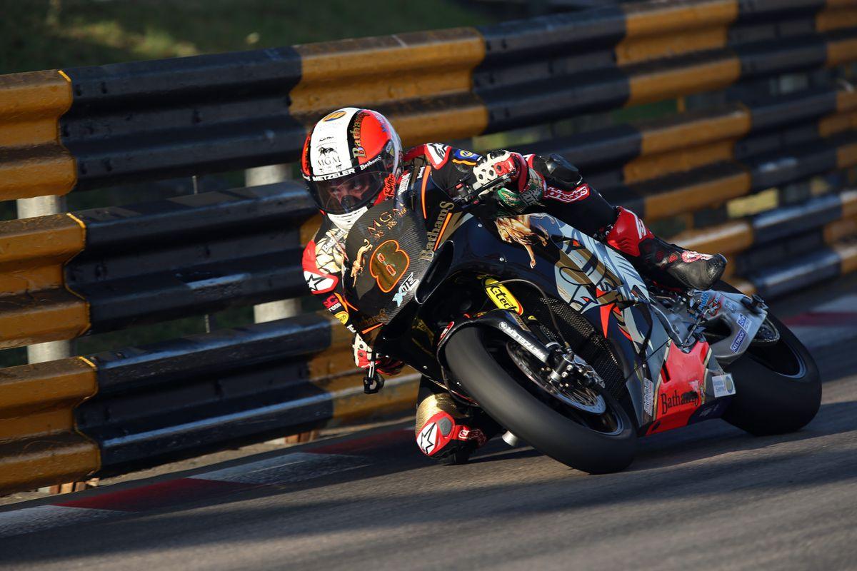 Rutter won the 2019 Macau GP the last time it was run in 2019. Picture: Stephen Davison