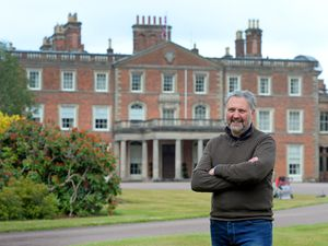Chief executive Colin Sweeney at Weston Park