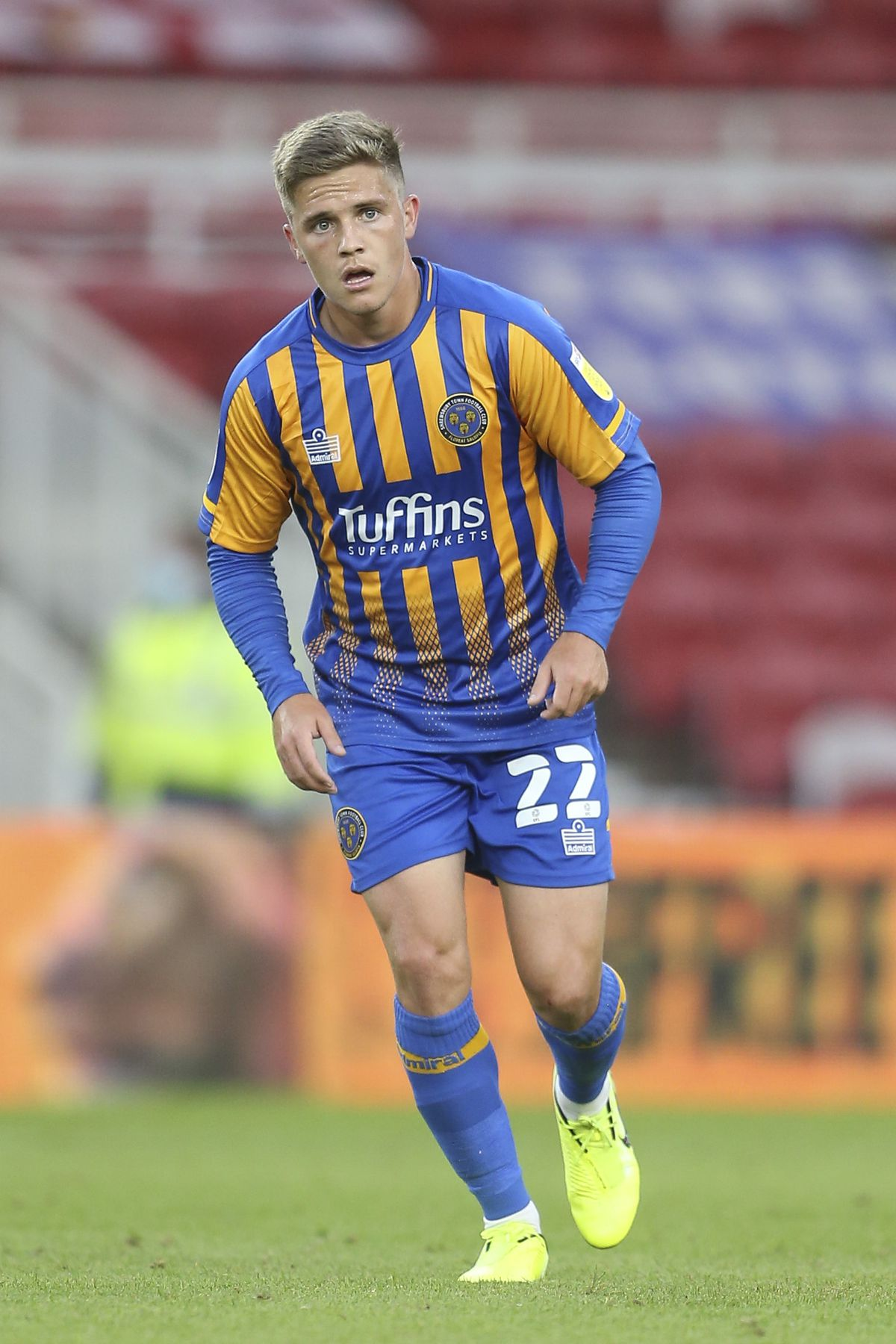 Josh Daniels has been tipped to shine at Shrewsbury Town (AMA)