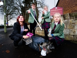 #doitfordavid: Oswestry teacher Mandy's purge on plastic goes viral