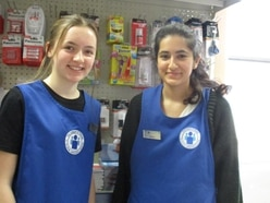 Volunteers fuel front line Shrewsbury hospital staff