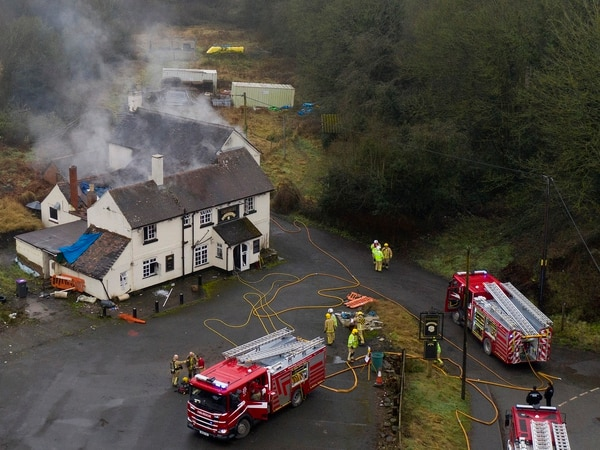 Blaze at Telford pub was deliberate, firefighters confirm