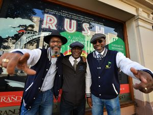DJ and backing vocals Ken Mclean, writer/producer/director Owen Miller, and musical director Orvil Pinnock are looking forward to the show at Wolverhampton Grand Theatre
