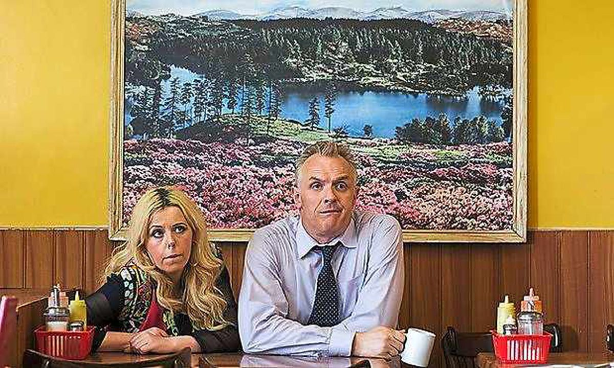Greg Davies appearing in his self-penned sitcom Man Down