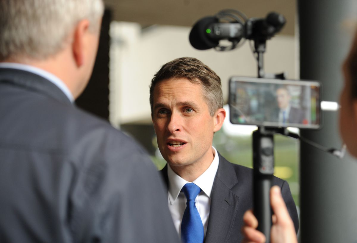 Gavin Williamson says the school funding boost is the biggest increase in a decade