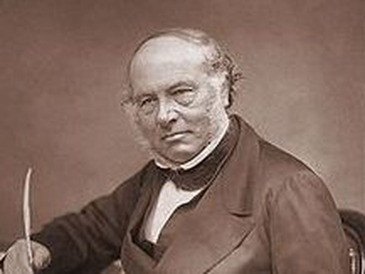 Sir Rowland Hill invented the modern postage stamp