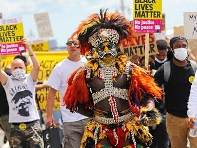 Thousands join Black Lives Matter protest in Brighton