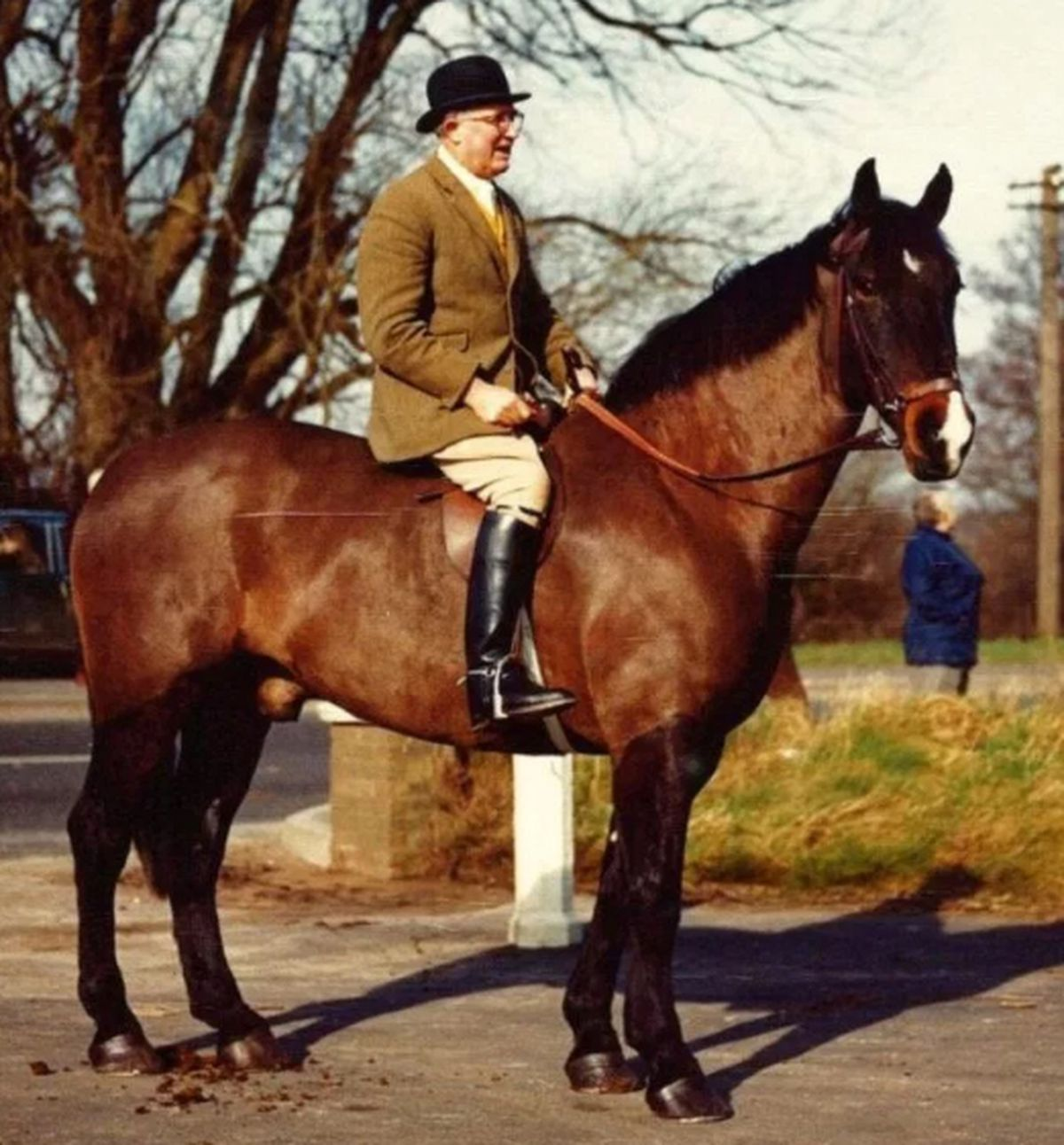 Lieutenant Colonel Monro was secretary of South Shropshire Hunt from 1969 to 1979