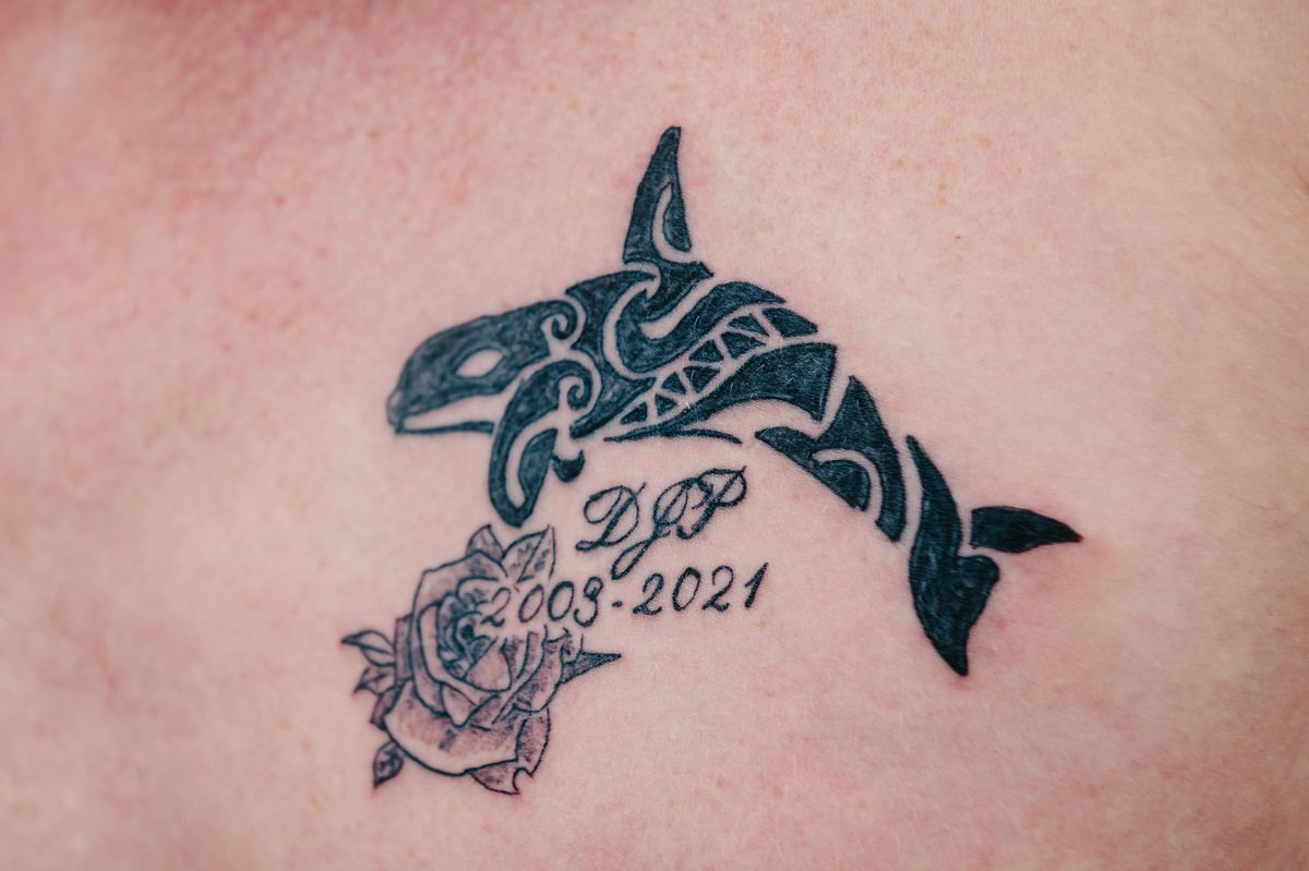 Some of Dylan's many friends have got a tattoo in his memory