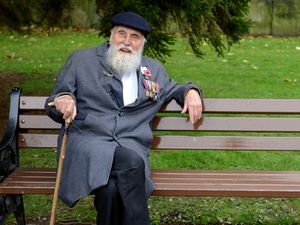 Second World War veteran and peace campaigner George Evans