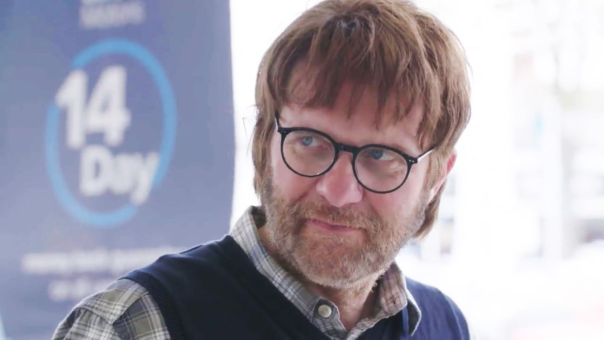Robert Forester, chief executive of Bristol Street Motors, disguised as former history lecturer Tom Goff for ITV's Undercover Big Boss