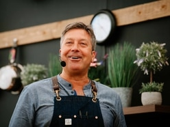 Torode has audience eating out of the palm of his hand at Shrewsbury Flower Show