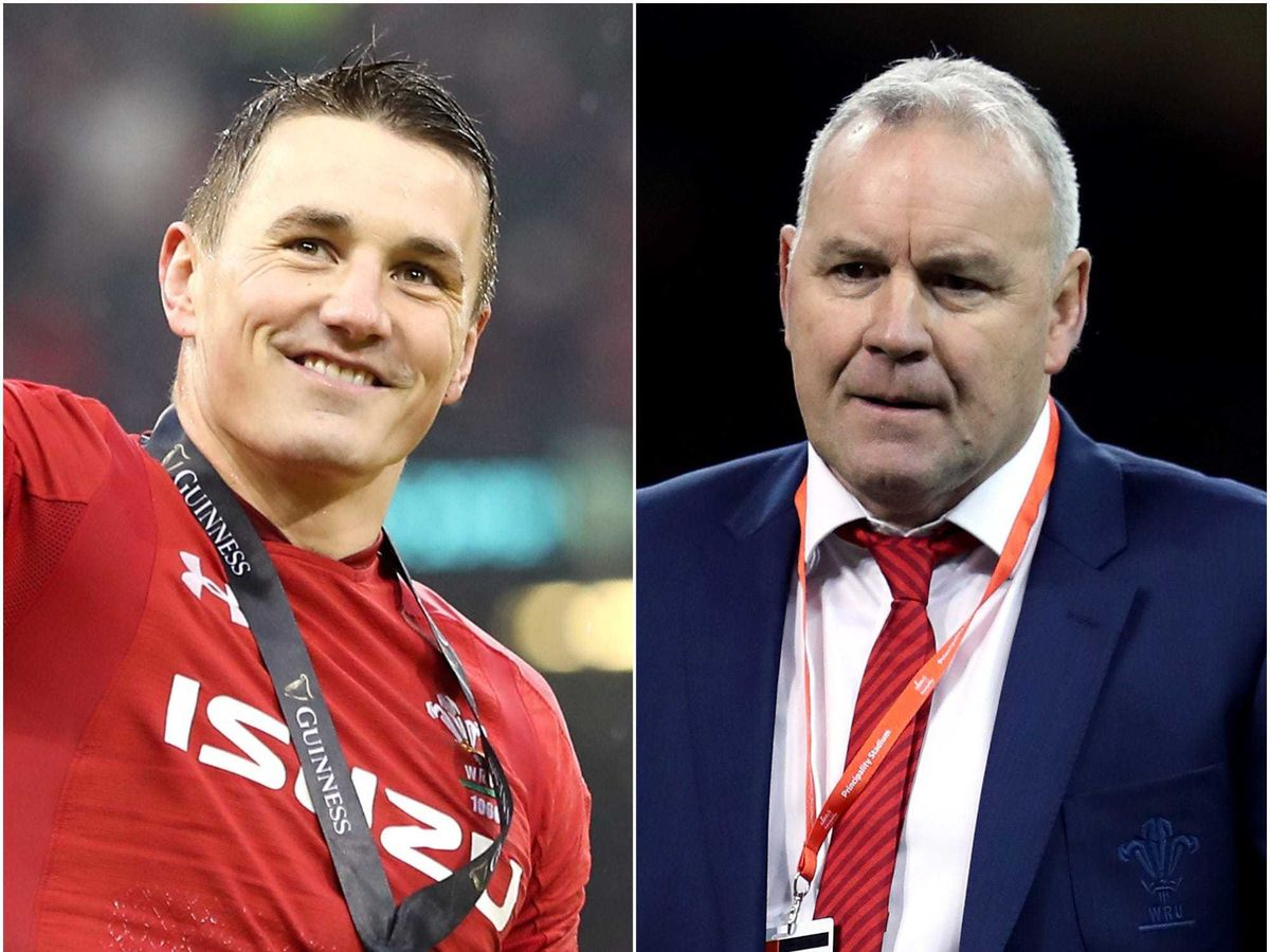 Jonathan Davies. left, will captain Wales this summer