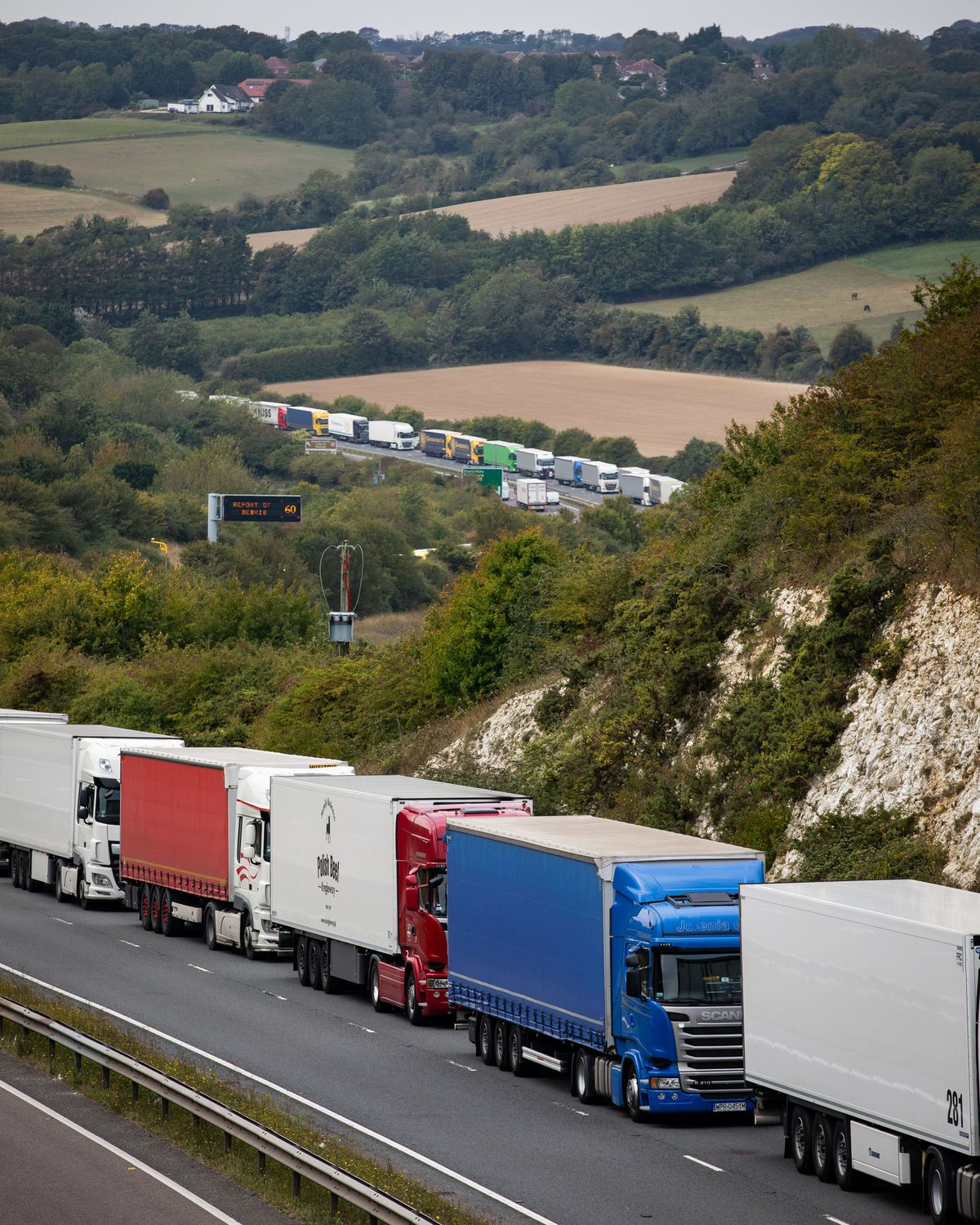 Lorry queues could become more regular