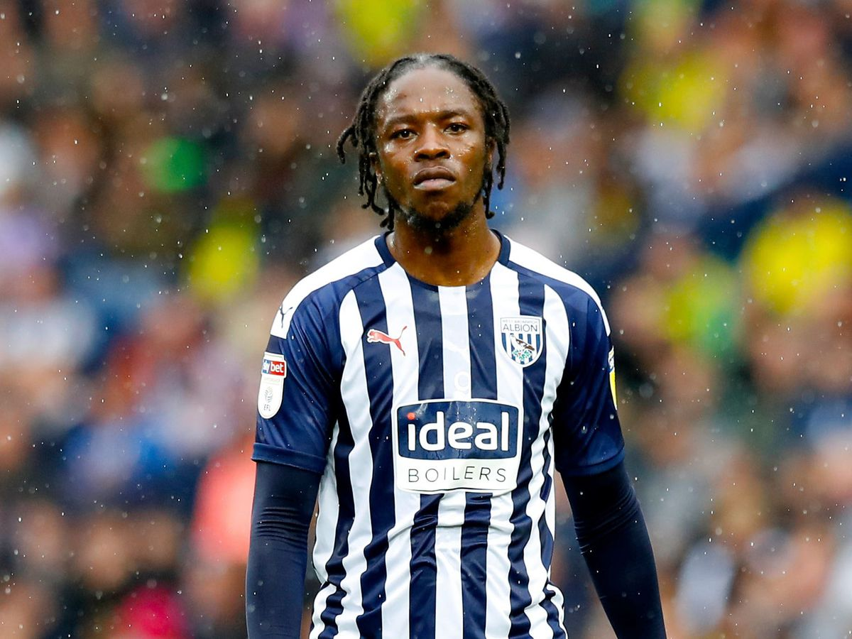 Romaine Sawyers playing for West Bromwich Albion