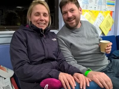Newlyweds spend honeymoon night with 80 others at rescue centre
