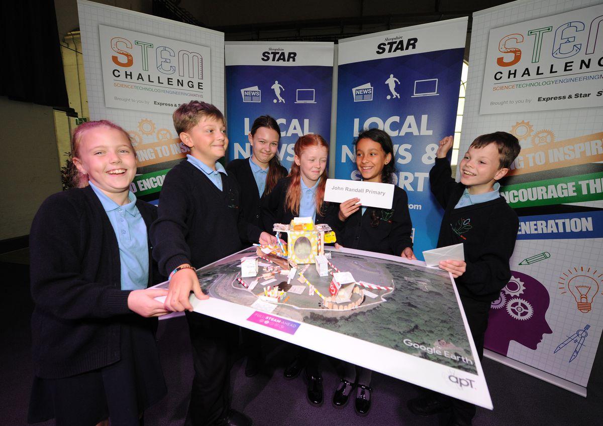 Best Overall winners John Randall Primary