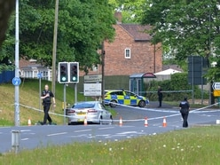 Investigation launched after man found with cuts in Telford road