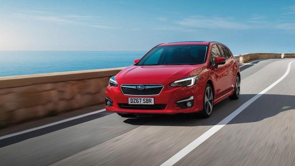 New Subaru Impreza Makes European Debut Shropshire Star