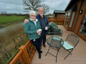 Seven Oaks Holiday Park customers Alan and Lorraine Hodgkinson