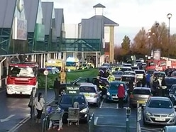 Telford retail park death crash trial starts