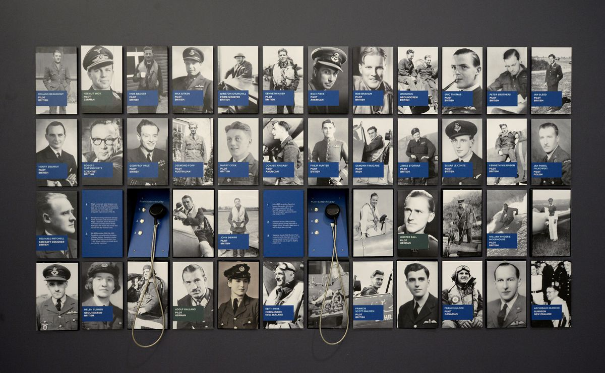 Key people involved in the Battle of Britain.