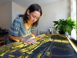 Bespoke stained glass: Ester is keeping an ancient craft alive