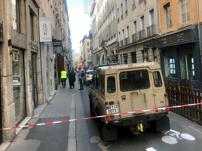 Seven injured after explosion on Lyon street
