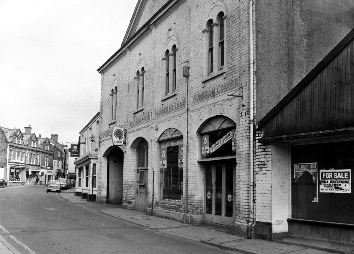 The Ercall Garage in Market Street, Wellington. Picture courtesy of Allan Frost.