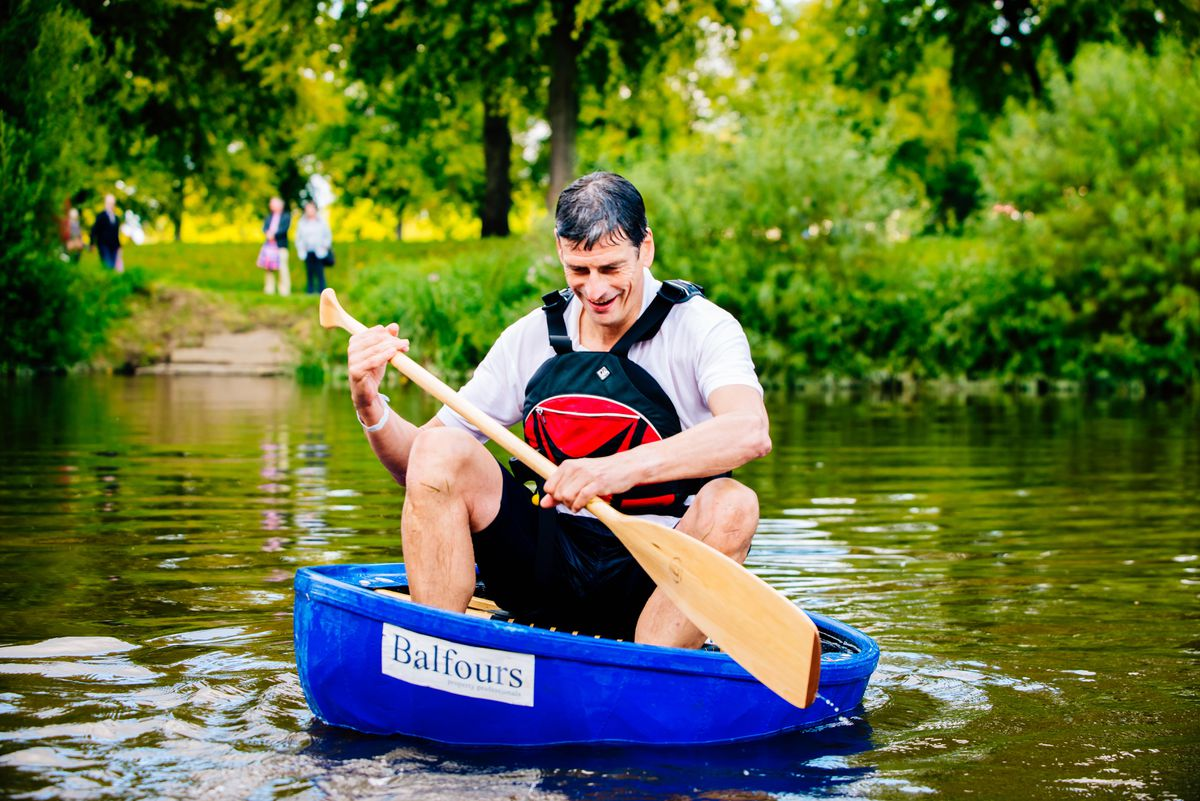 Coracle World Championships at Pengwern Boat Club