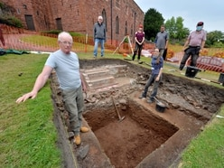 Lost Shrewsbury chapel remains hidden as team 'digs in the wrong castle'