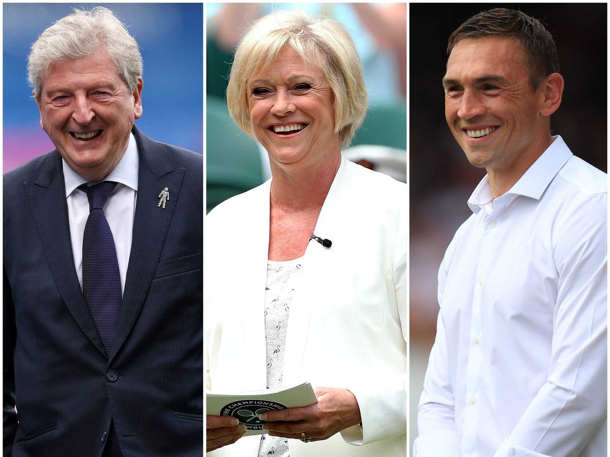 Roy Hodgson, Sue Barker and Kevin Sinfield have been recognised in the Queen's Birthday Honours List