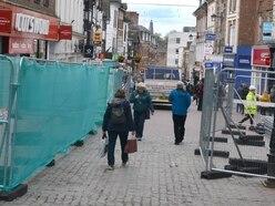 Construction boss defends Shrewsbury Pride Hill revamp progress