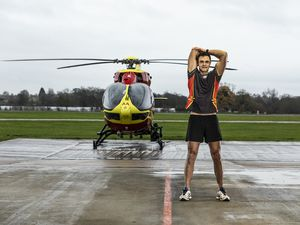 Stephen Mason, critical care paramedic for Midlands Air Ambulance Charity and team captain for the 121-mile distance, thoroughly enjoyed taking part in the challenge