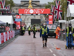 Elite athletes will run the Virgin Money London Marathon on a closed-loop circuit around St James's Park in central London on October 4
