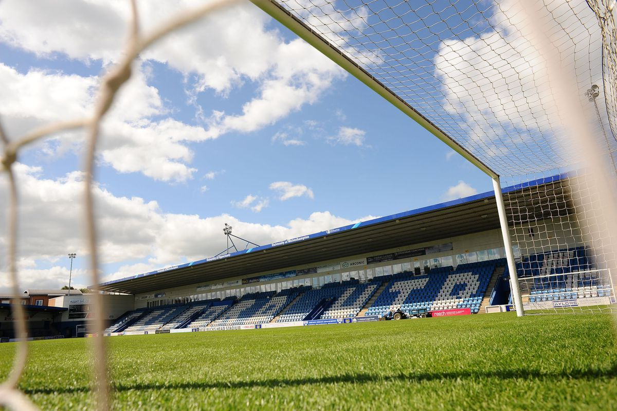 AFC Telford United's New Bucks Head ground. Photo: Mike Sheridan/Ultrapress.