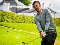 Watch Ashley Chesters come insanely close to a hole in one - VIDEO
