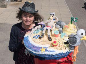 Alison Tucker in Westward-Ho, Devon, opted for a seaside theme