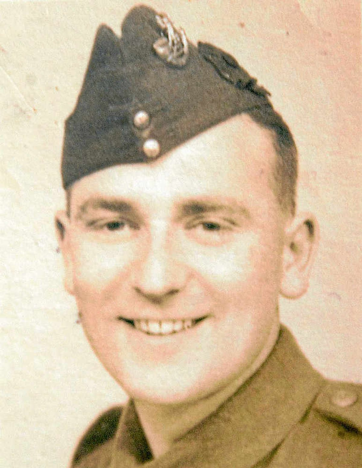 Harry Langford was a sergeant in the Second World War