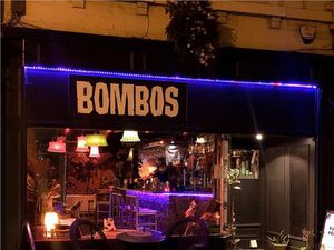 Bombo's, in Wyle Cop, Shrewsbury, is up for sale