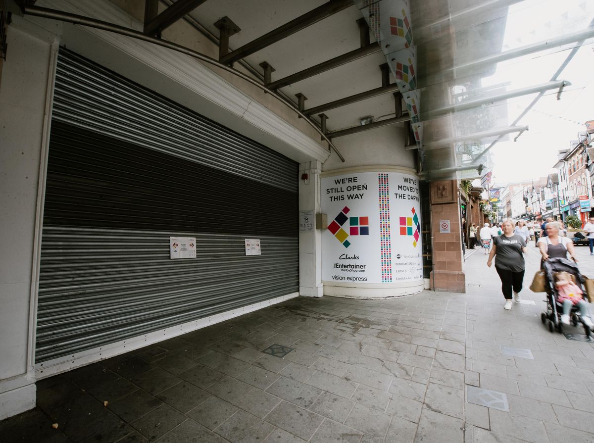 Pride Hill shopping centre closed this year