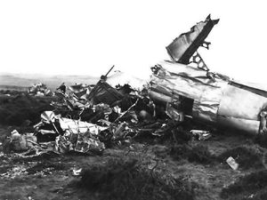 All six on board this American Flying Fortress bomber died in 1944 when it crashed into Titterstone Clee Hill.