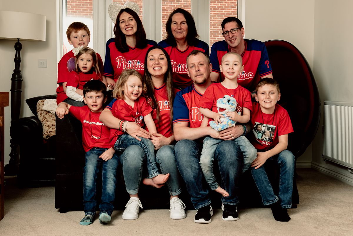 Zac's family are delighted to be able to look forward now